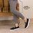格子舖*【ANDW1526】基本款百搭韓版 造型鞋帶 休閒帆布鞋 懶人鞋便鞋 4色 1
