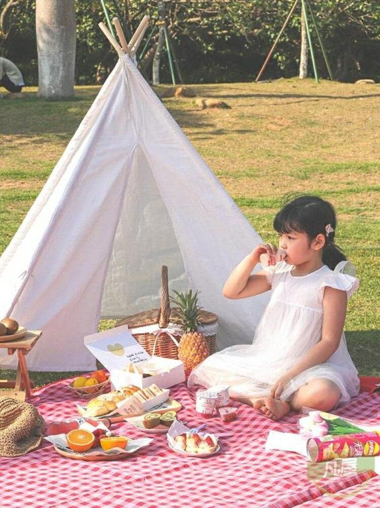 野餐墊 ins風用品網紅戶外防潮墊便攜防水郊游野炊地墊加厚野餐布-快速出貨