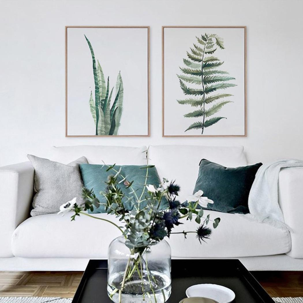 Plant Artwork Canvas Print Wall Art Home Wall Decoration 5