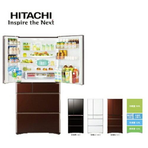 【日立HITACHI】日本冰箱六門676L琉璃三色《RG680GJ》全新原廠保固