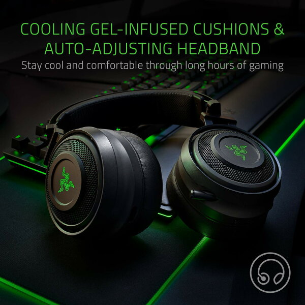 Razer Nari Wireless Gaming Headset Works For Pc Ps4 Switch Mobile Devices Sold By Aim Usa Rakuten Com Shop