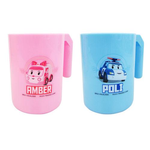 POLI 波力救援小英雄 牙刷杯 300ml (藍、粉)『121婦嬰用品館』