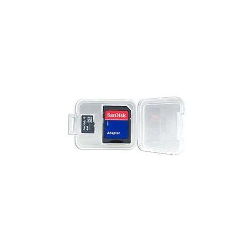 SanDisk 4GB microSDHC Class 4 4G microSD High Capacity micro SD SDHC C4 TF Flash Memory Card SDSDQ-004G + SD Adapter