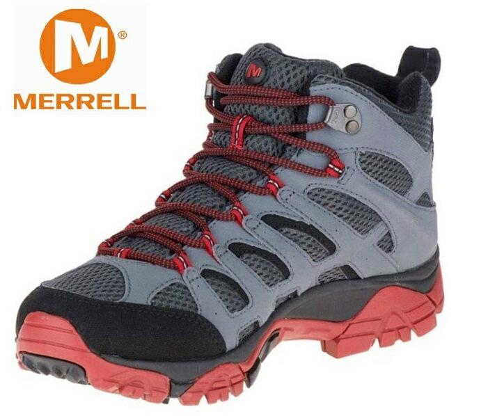 Merrell 中筒健行鞋/防水透氣越野鞋/戶外運動鞋 MOAB MID GORE-TEX 男款 ML36795