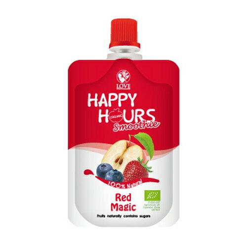 佑爾康金貝親 HAPPY HOURS 有機纖果飲 (蘋果/藍莓/草莓)100g【悅兒園婦幼生活館】