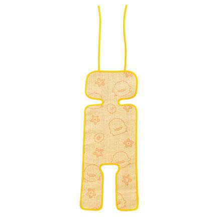 【悅兒樂婦幼用品?】Piyo 黃色小鴨 幼兒手推車亞草座墊涼蓆