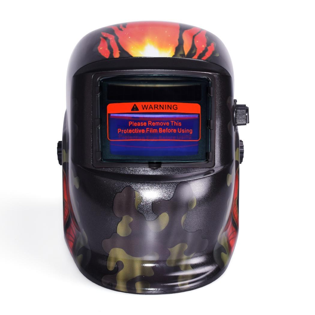 Arc Tig Mig Auto-Darkening Welding Solar Helmet Mask 0