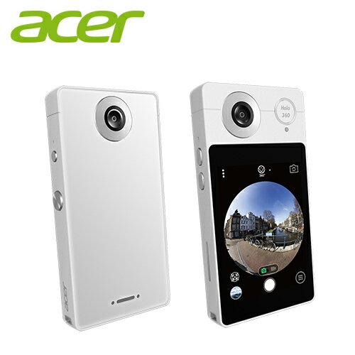 Acer宏碁HoLo360智慧型全景相機月光白【三井3C】