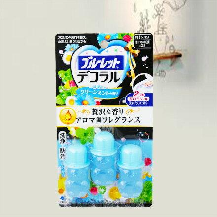 【敵富朗超巿】小林製藥馬桶用消臭凝膠-清新綠薄荷香氛