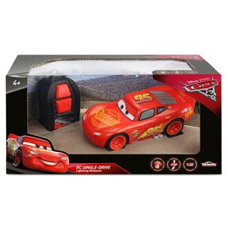 【Cars 汽車總動員】Cars3 基礎版遙控閃電麥坤 DK05419