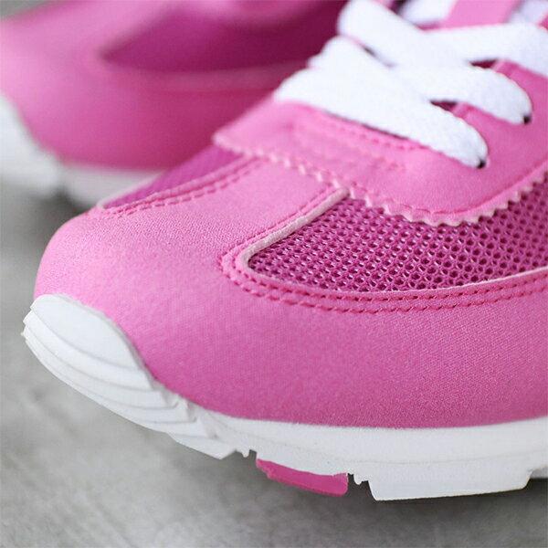 《限時特價799元》Shoestw【62W1SO63PK】PONY 慢跑鞋 休閒鞋 網布 透氣 粉紅白 女生 2
