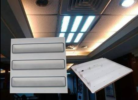 LED輕鋼架燈盤/ T-BAR平板燈/ 面板燈~超薄型 30W白光6入