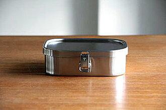 *新品上市*日本製 日本知名 工房AIZAWA 不銹鋼便當盒 角型環扣款-360ml-現貨-S
