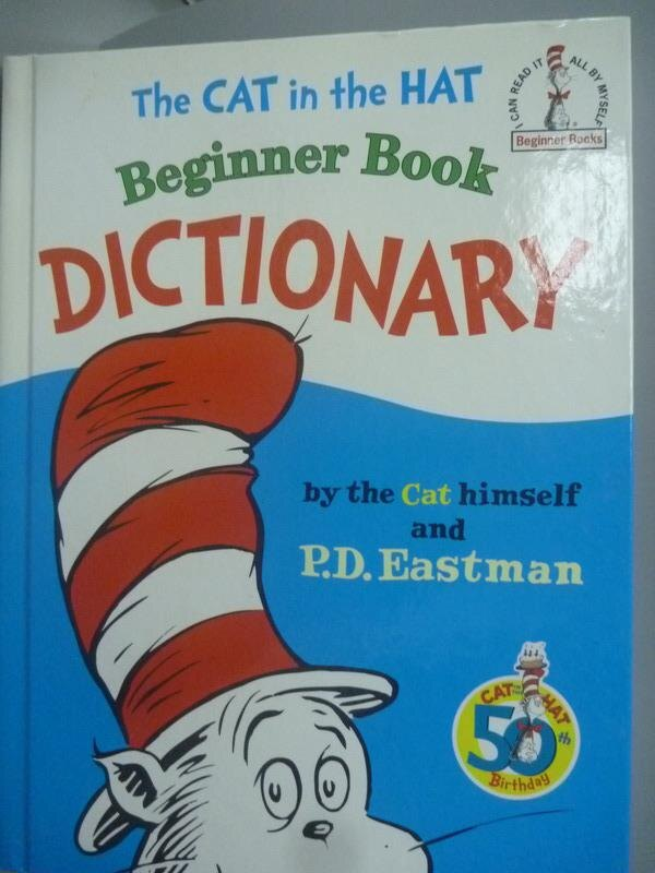 ~書寶 書T7/字典_XBT~Cat in the Hat Beginner Book D