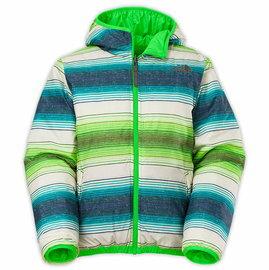 【鄉野情戶外專業】 The North Face 美國  REVERSIBLE PERRITO 雙面羽絨外套 男童/兒童外套 雙面外套-綠色/CA51