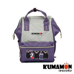 【KUMAMON 酷MA萌】NO.71熊本熊喜悅後背包(手提 背包 書包 學生 旅遊)