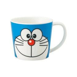 【真愛日本】17030800006 日本製寬口馬克杯-DN藍 Doraemon 哆啦A夢 小叮噹 馬克杯 水杯