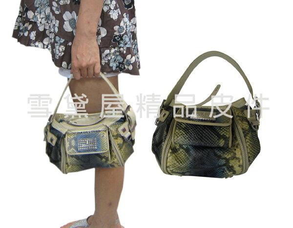 ~雪黛屋~GiLL手提包小容量復古仿舊設計100%進口牛皮革材質隨身物品外出休閒手提百搭款SMB0990