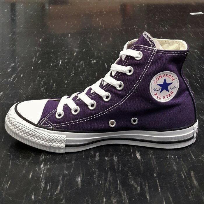 Converse Chuck Taylor All Star 基本款 高筒 帆布 紫色 深紫色 葡萄紫色 149516C