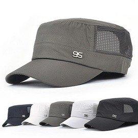 【騎行帽-0110】自行車騎行裝備軍帽平頂帽戶外帽網眼帽男女-5501001