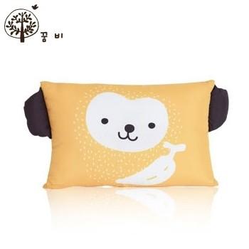 NANABABY:【韓國DreamB】透氣防蹣護頭型嬰兒枕-猴子#BP-Monkey