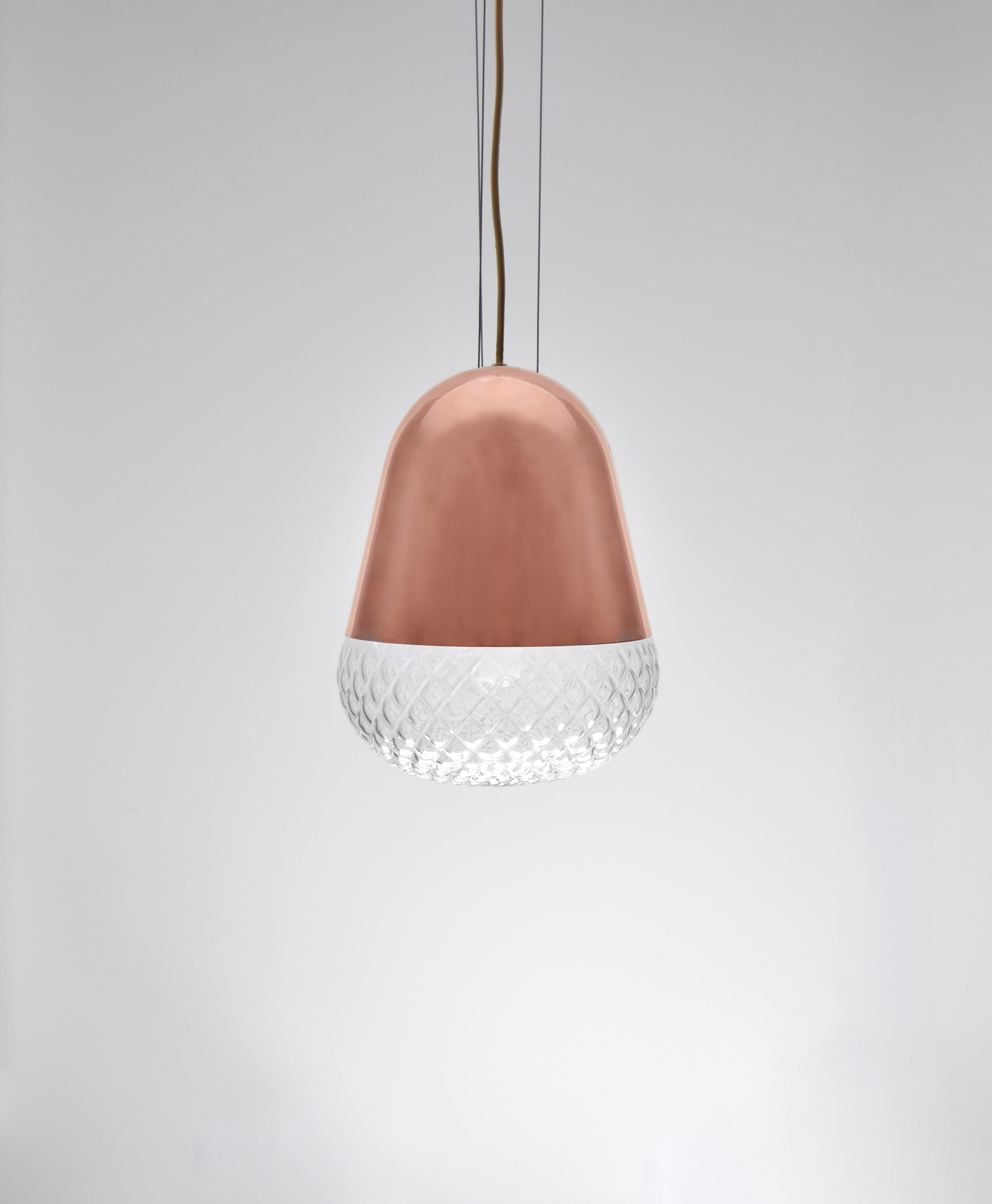 紅銅玻璃吊燈-BNL00118 0