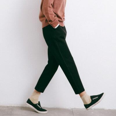 修身顯瘦哈倫褲九分褲休閒褲樂天時尚館。現貨。[全店免運]