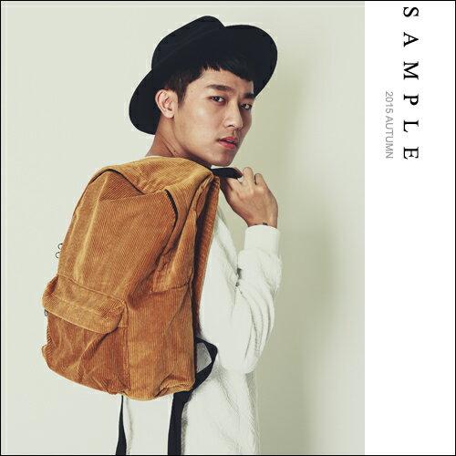 現貨 後背包【SA14412】韓國製 冬天限定高級絨布【Sample】