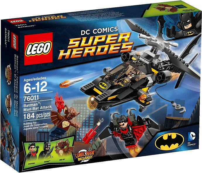 【瞎買天堂x現貨免運】樂高 LEGO 蝙蝠俠 Man-Bat Attack 76011【TYLEBM03】