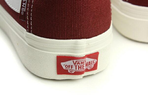 VANS 運動鞋 紅色 男女鞋 72065606 no479 3
