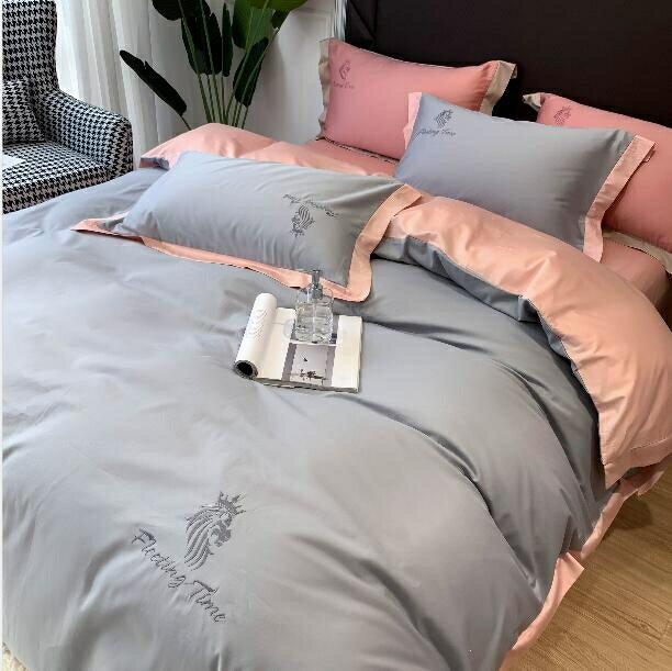 床罩床包四件組 床上四件套冰絲夏天歐式絲滑裸睡被套真絲床單被罩三件套床上用品 進店領券T【全館免運 限時鉅惠】