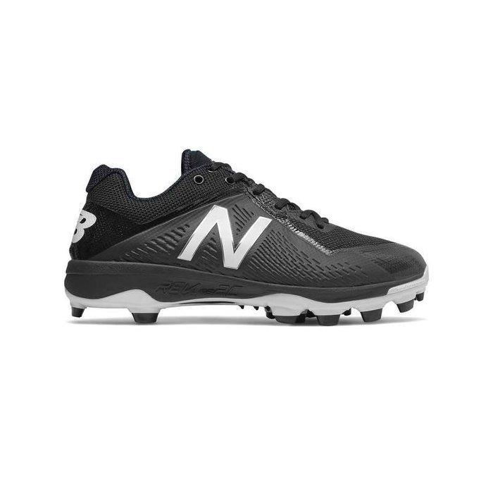 全新NB NEW BALANCE 棒壘球膠釘鞋 PL4040K4 特價黑色 2E寬楦版