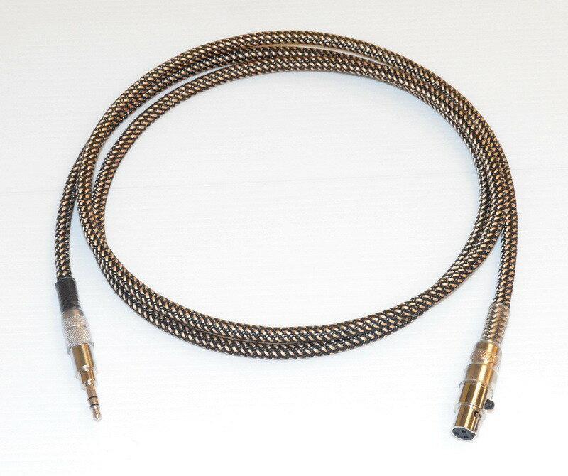 志達電子 CAB067MK2/1.3 AKG 耳機升級線 1.3M (Mini XLR TO 3.5mm) K702 K240 K271