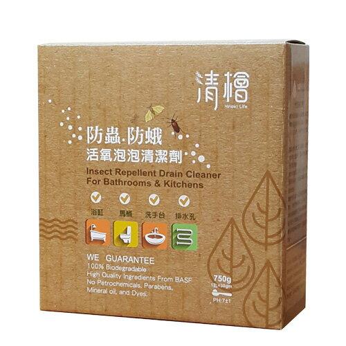 嚴選良品 清檜 防蟲防蛾活氧泡泡清潔劑  750ml/盒