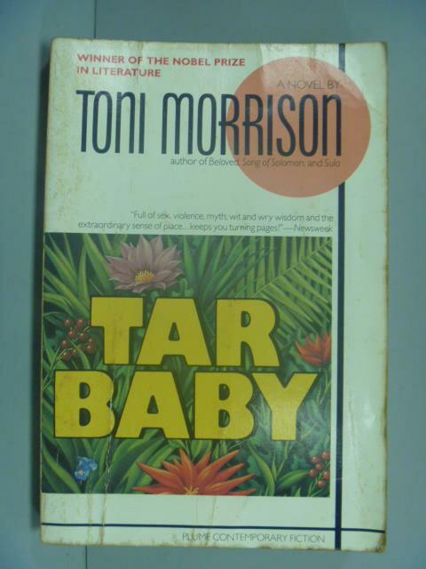 ~書寶 書T1/原文小說_GBQ~Tar baby_Toni Morrison