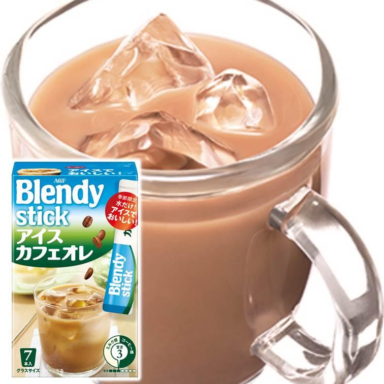 AGF BlendyStick香醇冰咖啡即溶沖泡粉隨身包 80.5g 7本入 ????? ????? ???????? 日本進口飲料