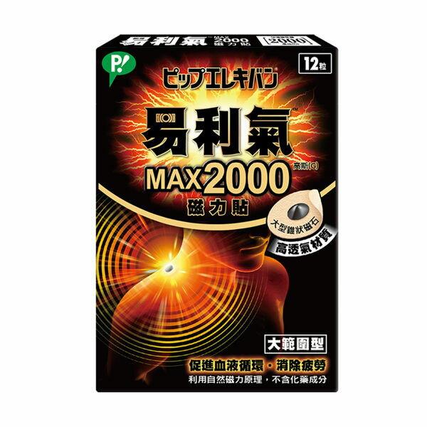 橘子藥美麗:易利氣磁力貼-大範圍型(MAX2000高斯)