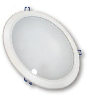 達源★台製 20 公分LED崁燈 24W 全電壓 白光 黃光★永旭照明C50-LED-24W-20CM%