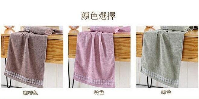 PS Mall 竹漿纖維毛巾 毛巾34*76cm【J1373】 3