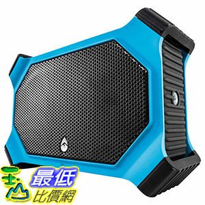 [106美國直購] ECOXGEAR EcoSlate Waterproof Bluetooth Speaker