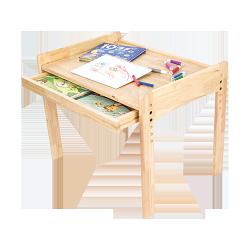樂嫚妮 兒童升降成長桌 實木桌子 書桌 遊戲桌【A045】