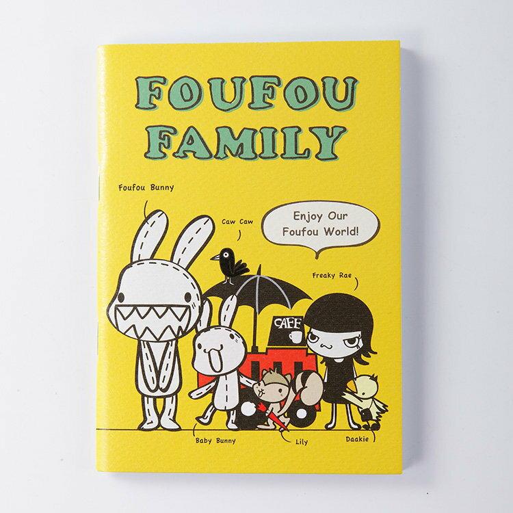 《Foufou》插畫系列小筆記-Foufou Family(格線)