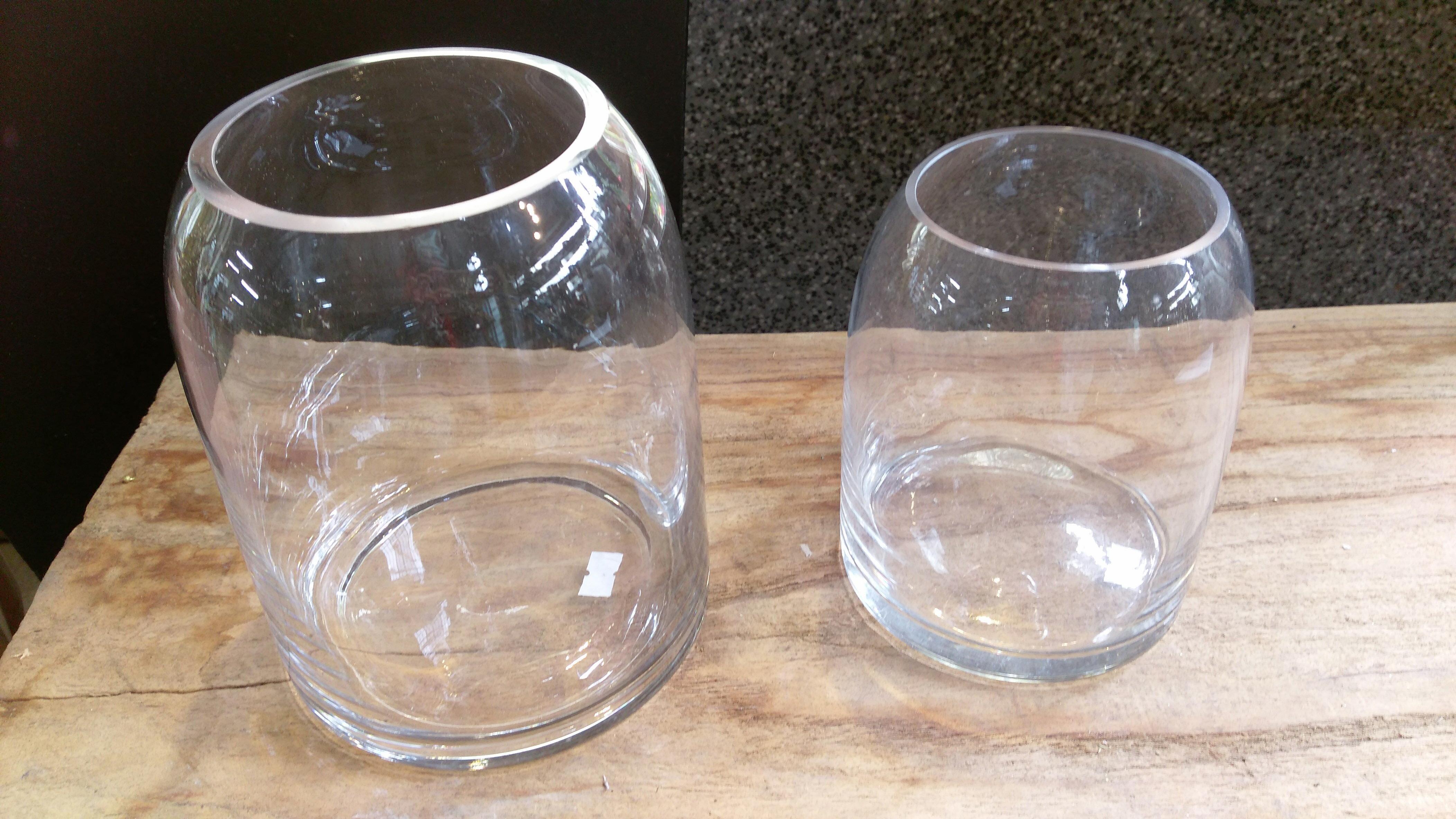壺型透明玻璃置物瓶 / 玻璃 / 盆器 / 擺飾★棉花糖家飾精品★
