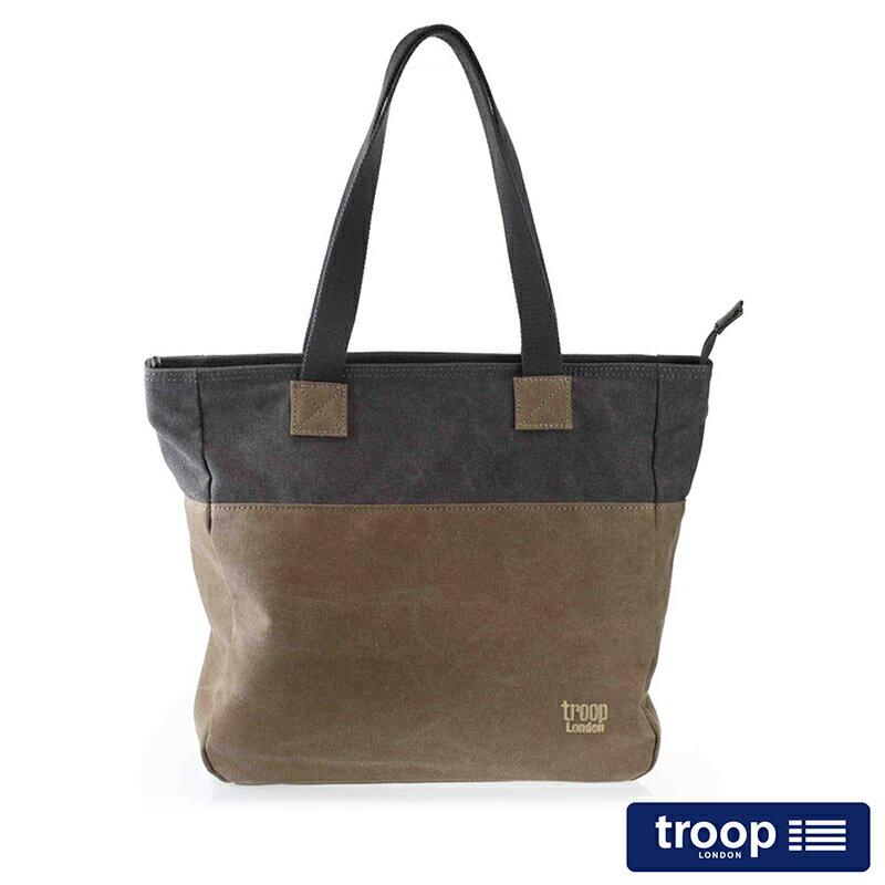 【TROOP】經典品格CLASSIC肩背包/TRP0363BK
