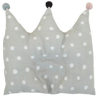 現貨  Naomi ITO  皇冠凹型枕 王冠凹型枕 新生兒枕頭