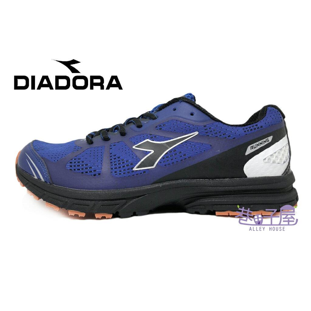【巷子屋】義大利國寶鞋-DIADORA迪亞多納 男款2E寬楦緩震乳膠動能運動輕跑鞋 [5536] 藍 超值價$690