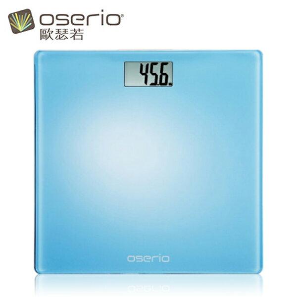 【歐瑟若oserio】數位體重計 BLG-261 (幸福藍)