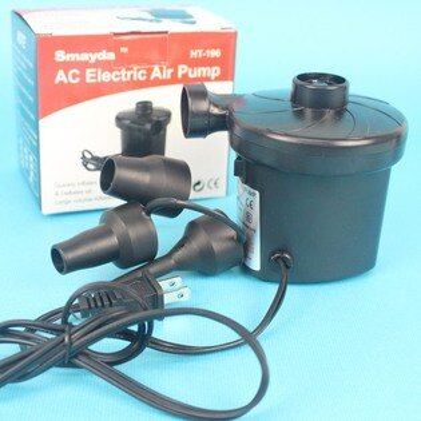 小型電動打氣機+抽充機 二用打氣機 幫浦(不適用汽球)/一台入{促400)電動充氣泵 馬達 pump~YF12864