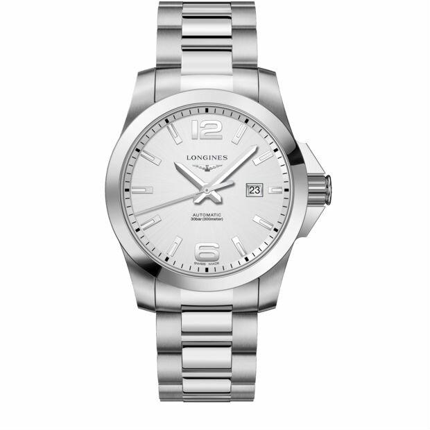 LONGINES 浪琴 L37784766 潛水型經典征服者機械腕錶/白面43mm
