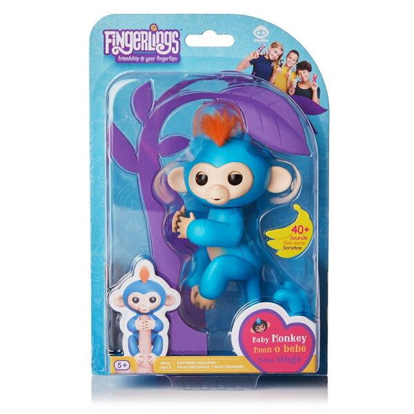 東喬精品百貨商城:【Fingerlings】互動寵物猴-手指猴-藍